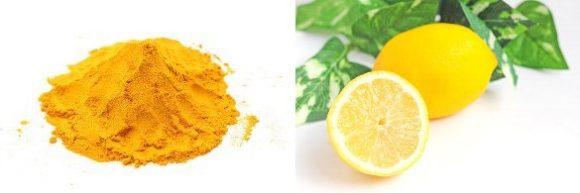 レモンとウコン